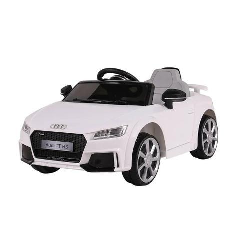 Carro Elétrico Audi Tt Rs Branco
